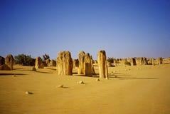 Berggipfel-Wüste Stockbilder