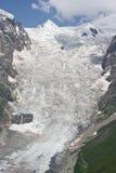 Bergglaciär Fotografering för Bildbyråer