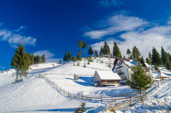 Berghütte Stockbilder