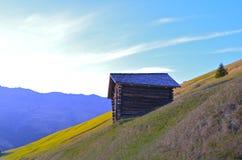 Berghütte lizenzfreies stockbild