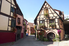 Bergheim Γαλλία Στοκ εικόνα με δικαίωμα ελεύθερης χρήσης