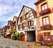 Bergheim, Эльзас, Франция Стоковое Изображение