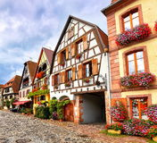 Bergheim, Alsace, France Stock Image