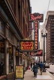 Berghoff Restaurant - Chicago Loop Stock Photo