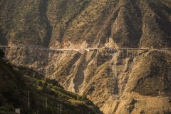 Berghuvudväg Royaltyfri Bild