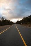 Berghuvudväg fotografering för bildbyråer