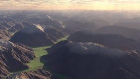 bergig liggande Royaltyfri Foto