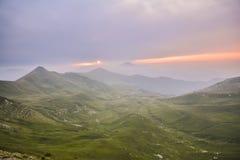 bergig liggande Royaltyfri Bild