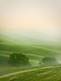 bergig liggande tuscany arkivfoton