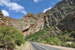 bergig väg Royaltyfri Fotografi