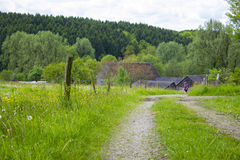 Bergisches土地在德国 库存照片