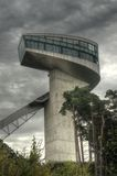 Bergisel Ski Jump Building Royalty Free Stock Images