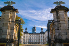 BERGISH GLADBACH, ΓΕΡΜΑΝΊΑ - 12 ΟΚΤΩΒΡΊΟΥ 2015: Althoff Grandhotel Schloss Bensberg Στοκ Φωτογραφία