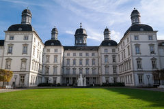 BERGISH GLADBACH, DEUTSCHLAND - 12. OKTOBER 2015: Althoff Grandhotel Schloss Bensberg Stockfotografie