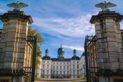 BERGISH GLADBACH, GERMANIA - 12 OTTOBRE 2015: Althoff Grandhotel Schloss Bensberg Fotografia Stock
