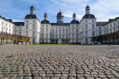 BERGISH GLADBACH, GERMANIA - 12 OTTOBRE 2015: Althoff Grandhotel Schloss Bensberg Immagine Stock