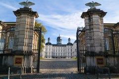 BERGISH GLADBACH, GERMANY - OCTOBER 12, 2015: Althoff Grandhotel Schloss Bensberg Royalty Free Stock Photo