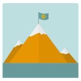 Bergkaart Stock Afbeeldingen