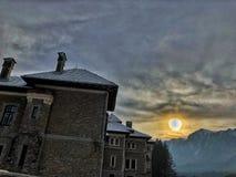 Bergkant - Carphatian-bergen royalty-vrije stock fotografie