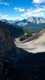 Bergkaskadamfiteater fotografering för bildbyråer