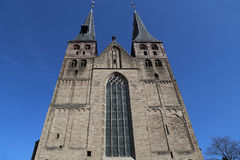 Bergkerk教会在代芬特尔,荷兰 图库摄影
