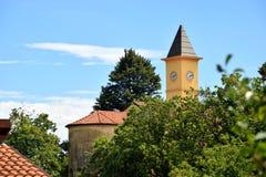 Bergkerk Royalty-vrije Stock Afbeeldingen