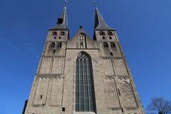 Bergkerk kyrka i Deventer, Holland Arkivbild