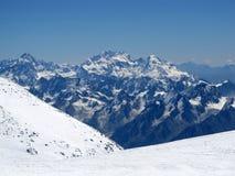 Bergketen Royalty-vrije Stock Foto