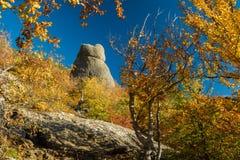 Bergketen Demerdzhi stock foto's