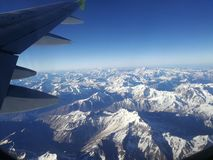 Bergketen II van de Andes royalty-vrije stock afbeelding