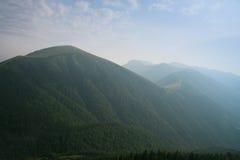 Bergketen Mala Fatra Royalty-vrije Stock Foto