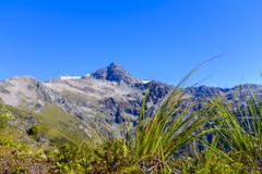 Bergketen rond Arthurs-Pas royalty-vrije stock afbeeldingen