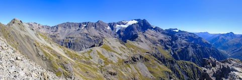 Bergketen rond Arthurs-Pas royalty-vrije stock afbeelding