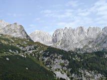 Bergketen \ Wildere Kaiser \ Royalty-vrije Stock Fotografie
