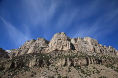 Bergketen - Wyoming Stock Fotografie