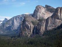 Bergketen in Yosemite Stock Afbeeldingen