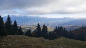 Bergketenlandschap Royalty-vrije Stock Fotografie