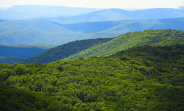 Bergketenlandschap Royalty-vrije Stock Foto's
