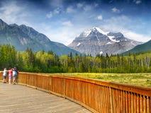 Bergketenlandschap, Canada Stock Afbeeldingen