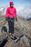 Bergklättring Royaltyfria Foton