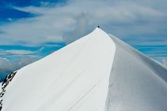 Bergklättring Royaltyfri Fotografi