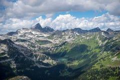 Bergklättring i F. KR. 4 Royaltyfria Foton