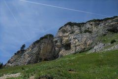 Bergklippen Стоковая Фотография