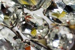 Bergkristallen stock foto