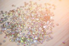 Bergkristallhintergrund Blings-Bergkristall-Kristallmuster Stockbilder