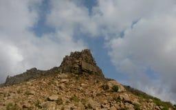 Bergkuppe Stockbild