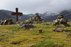 Bergkuppe Lizenzfreie Stockfotos