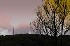 Bergkuppeschönheit Lizenzfreie Stockbilder