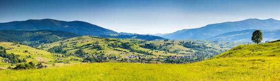 Berglandschaft. stockfoto