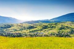 Berglandschaft. stockbilder